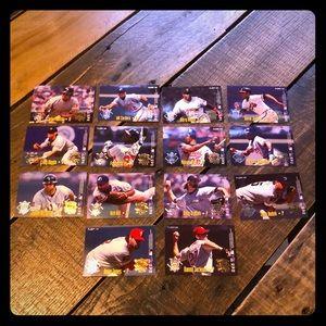 Fleer 1995 American League baseball cards